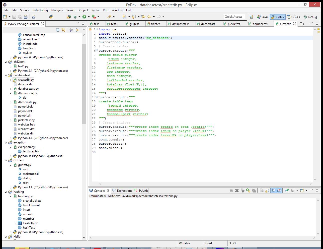 Python Database Programming: Part Five   PythonScript HQ