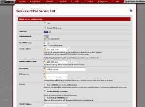 pfSense PPPoE Server
