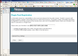 Nessus Installation