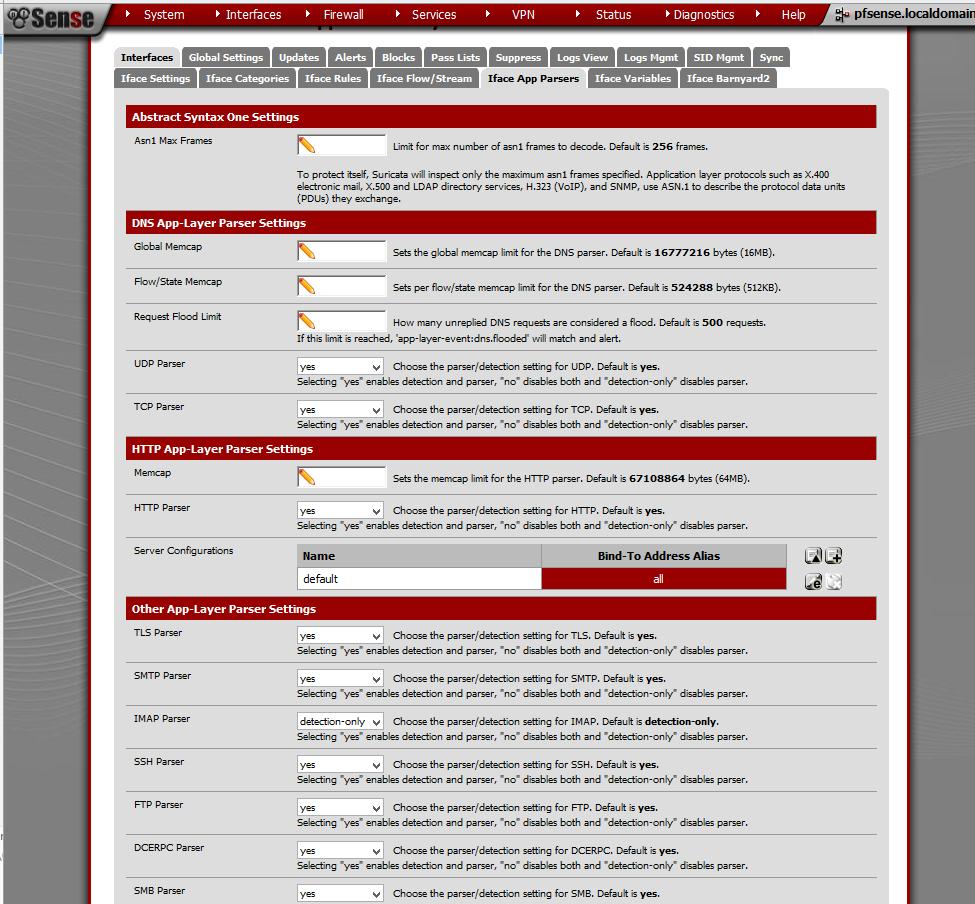 Suricata Intrusion Detection: Part Four - pfSense Setup HQ